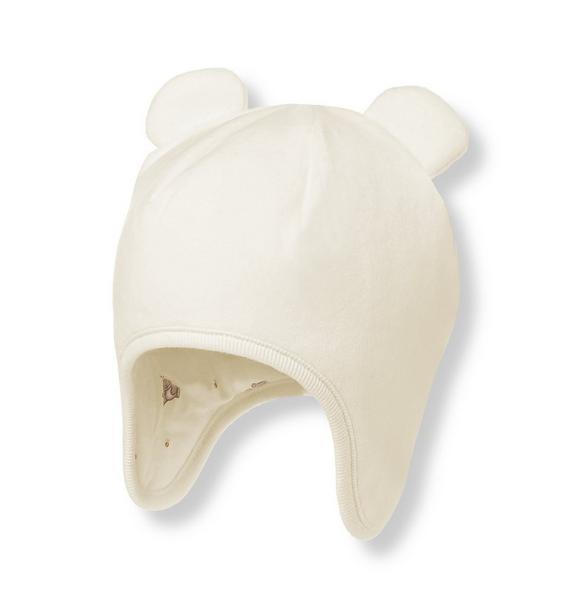 Bear Ear Velour Hat