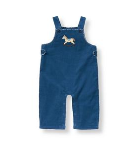 Rocking Horse Corduroy Overall