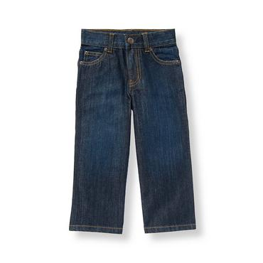 Boys Dark Denim Dark Denim Jean at JanieandJack