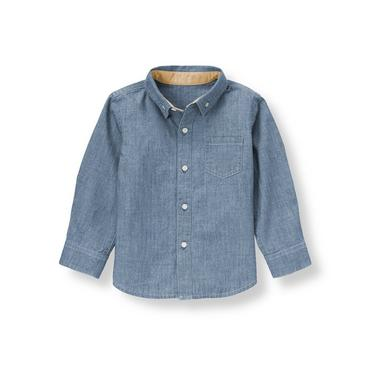 Chambray Chambray Shirt at JanieandJack