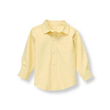 Light Campus Gold Woven Dress Shirt at JanieandJack