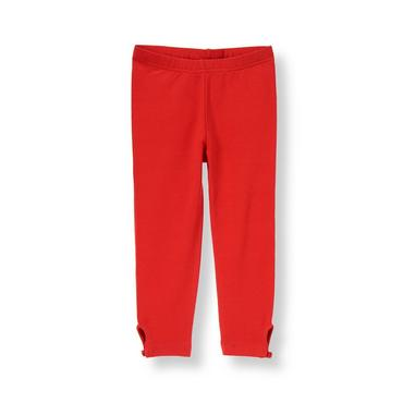 Metropolitan Red Button Legging at JanieandJack