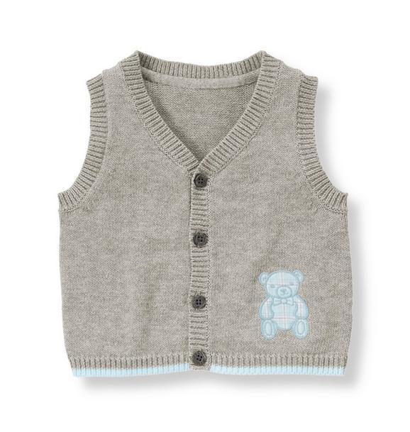 Teddy Bear Sweater Vest