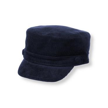 Boys Classic Navy Corduroy Hat at JanieandJack