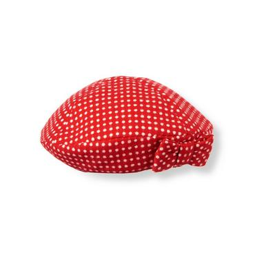 Metropolitan Red Dot Bow Dot Wool Blend Hat at JanieandJack