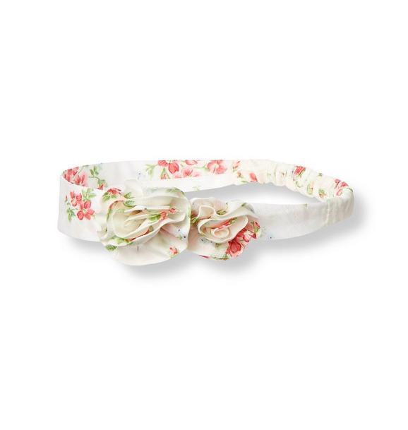 Rosette Floral Headband