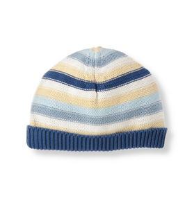 Stripe Sweater Beanie