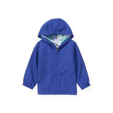 Cobalt Blue Windbreaker Jacket at JanieandJack