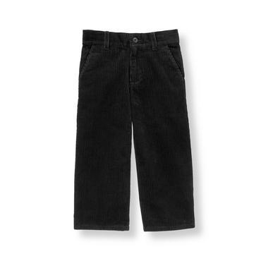 Boys Classic Black Corduroy Pant at JanieandJack