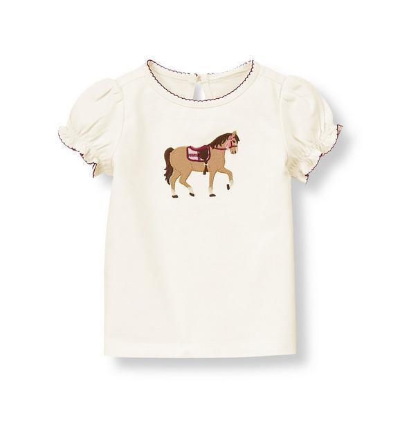 Equestrian Horse Top