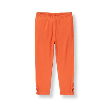 Orange Fox Button Legging at JanieandJack