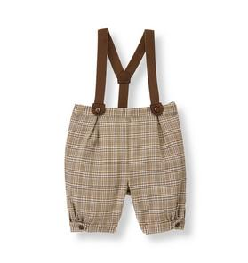 Plaid Suspender Knicker