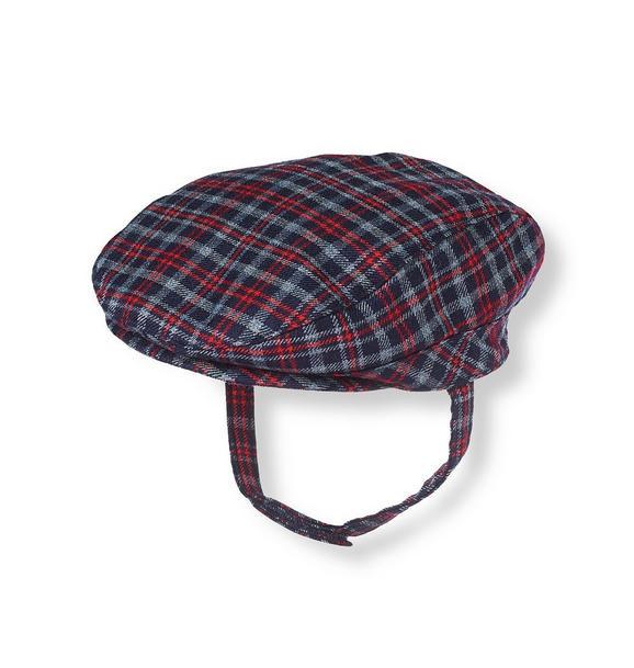 Plaid Suit Cap