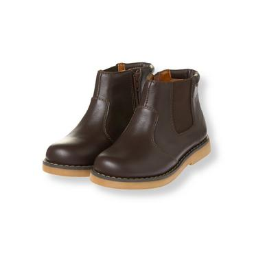 Equestrian Brown Leather Boot at JanieandJack