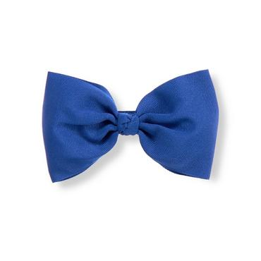 Cobalt Blue Bow Barrette at JanieandJack