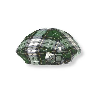 Pine Green Plaid Tartan Hat at JanieandJack