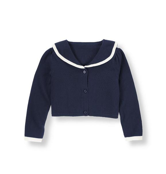 Sailor Crop Cardigan
