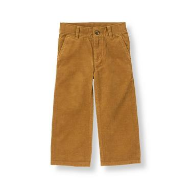 Honey Brown Corduroy Pant at JanieandJack