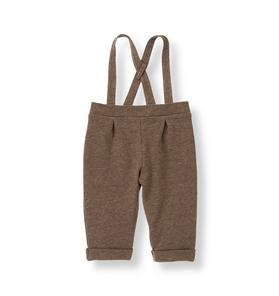 French Terry Suspender Pant