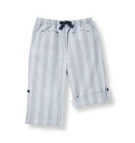 Stripe Roll Cuff Pant