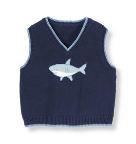 Shark Sweater Vest