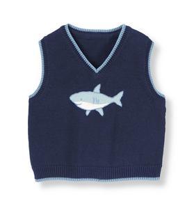 Shark Sweater Vest