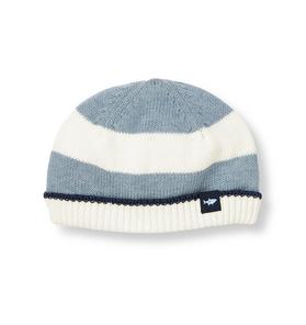 Stripe Sweater Beanie