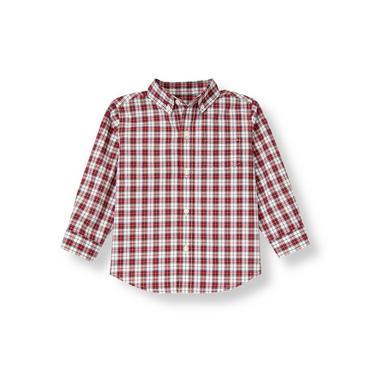 Nutcracker Red Plaid Plaid Shirt at JanieandJack