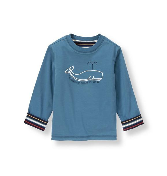 Whale Reversible Tee