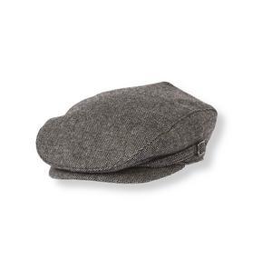 Wool Blend Tweed Cap