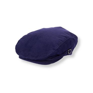 Boys Festive Purple Corduroy Cap at JanieandJack