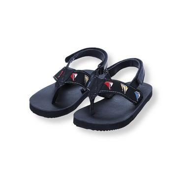 Nautical Navy Sailboat Flip Flop at JanieandJack