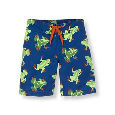 Blue Frog Frog Swim Trunk at JanieandJack