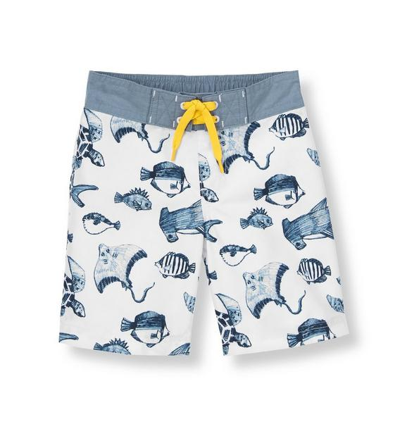 Sea Creatures Swim Trunk