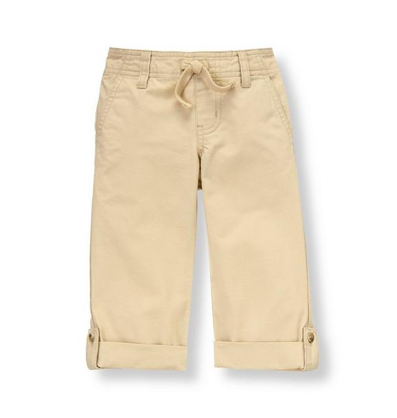 Roll Cuff Canvas Pant
