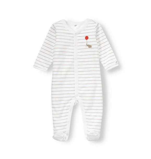 Elephant Stripe Reversible One-Piece