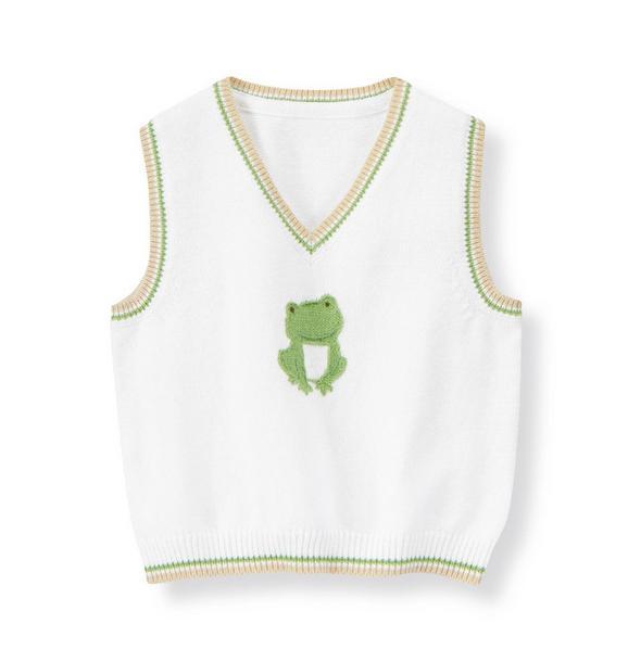 Frog Sweater Vest