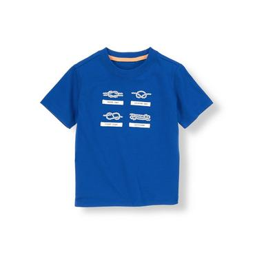 Nautical Blue Sailing Knots Tee at JanieandJack