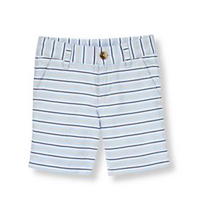 Oxford Stripe Short