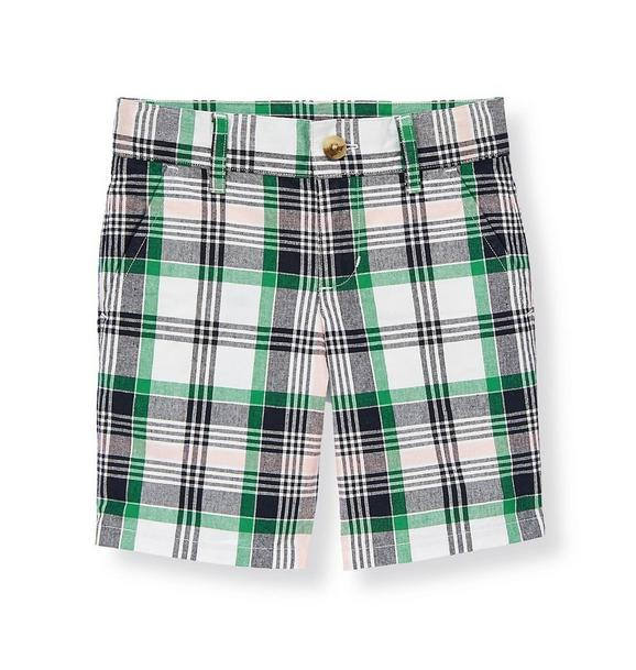 Madras Plaid Short