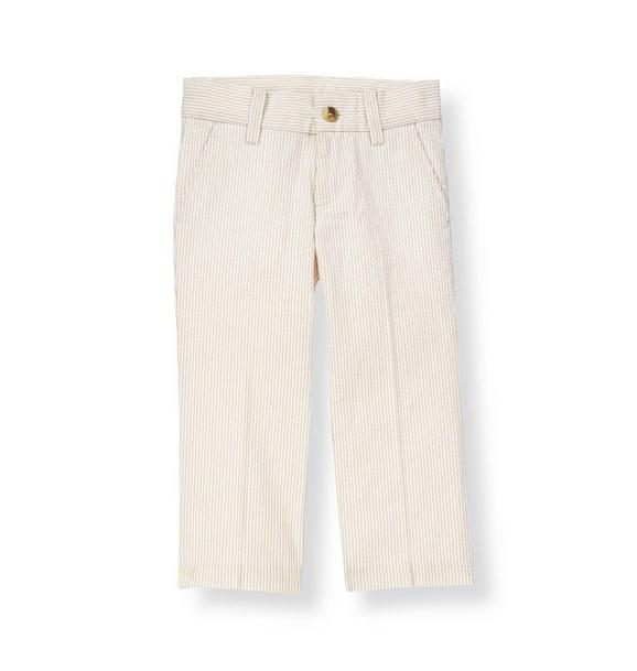 Stripe Seersucker Suit Trouser