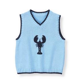 Lobster Sweater Vest