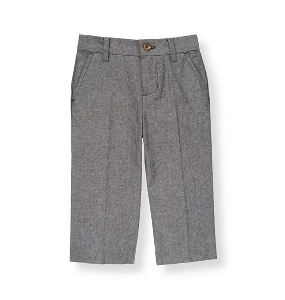 Chambray Suit Trouser