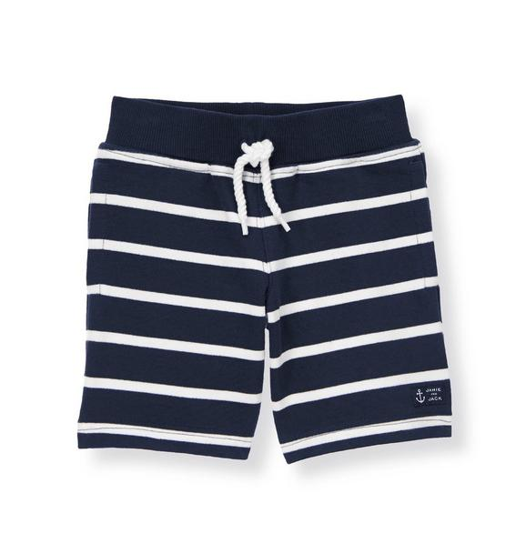 Stripe Terry Short