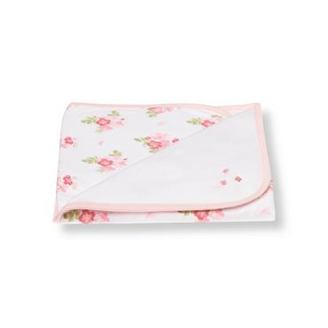 Pink Bouquet Butterfly Floral Blanket at JanieandJack