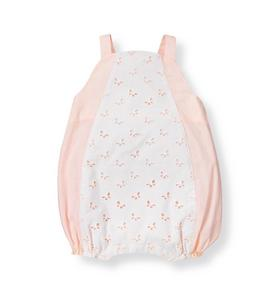 Butterfly Eyelet Bubble One-Piece