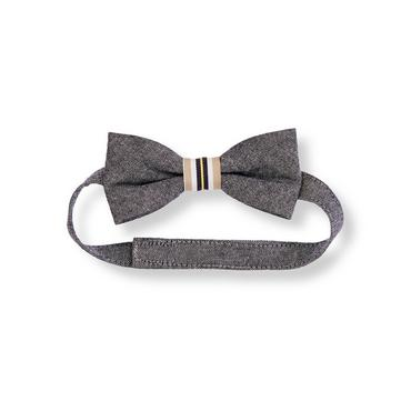 Boys Navy Chambray Chambray Bowties at JanieandJack