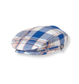 Plaid Canvas Cap