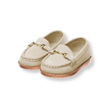 Light Khaki Suede Loafer at JanieandJack