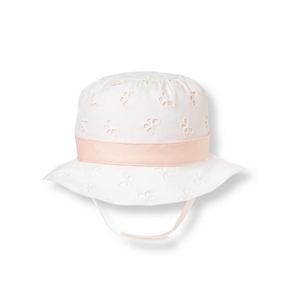 Butterfly Eyelet Hat